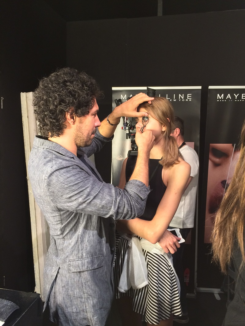 Fashion Week Berlin Backstage Maybelline Makeup Artist Final BineLovesLife