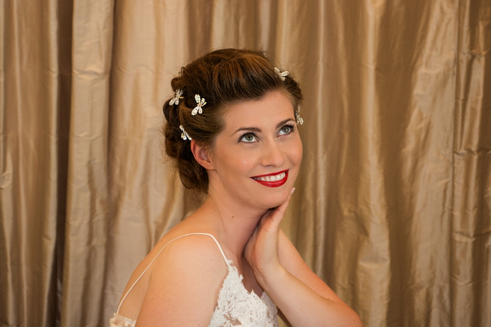 Beautiful Bridal Styling Hair and Makeup BineLovesLife