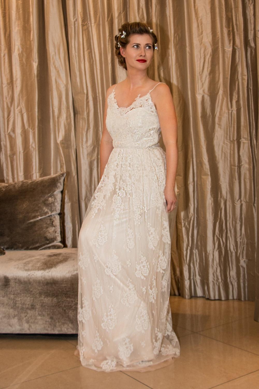 Bridal Look Romantic 40ies inspired BineLovesLife