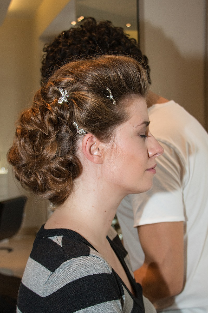 Details Bridal Hair Hochsteckfrisur Lange Haare Hochzeitslook BineLovesLife