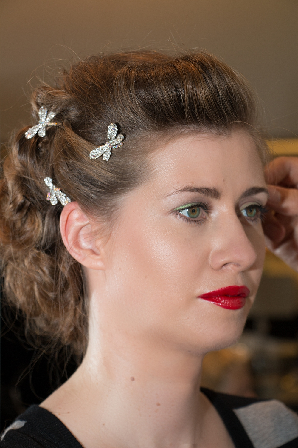 Red Lips Wedding Hochzeitslook perfect classic beauty BineLovesLife