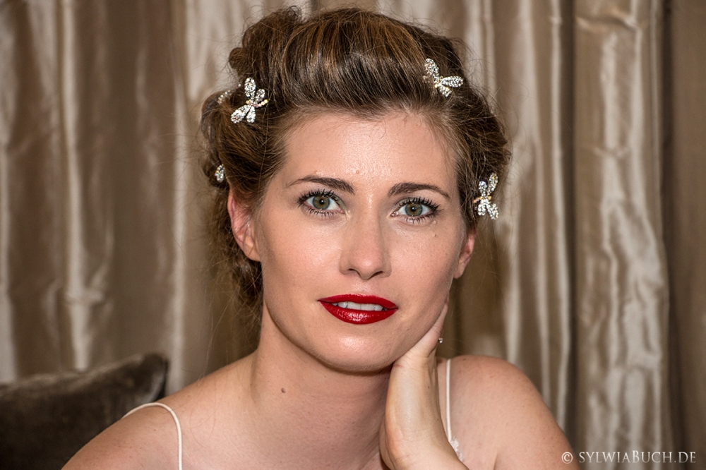 Romantic 40ies Bridal Makeup BineLovesLife