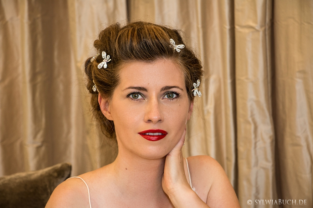 Romantic 40ies inspired Bridal MakeUp BineLovesLife