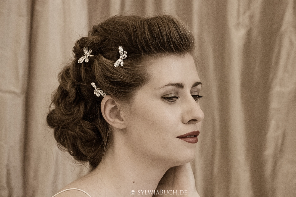 Romantic 40ies inspired Bridal Styling BineLovesLife oldern days