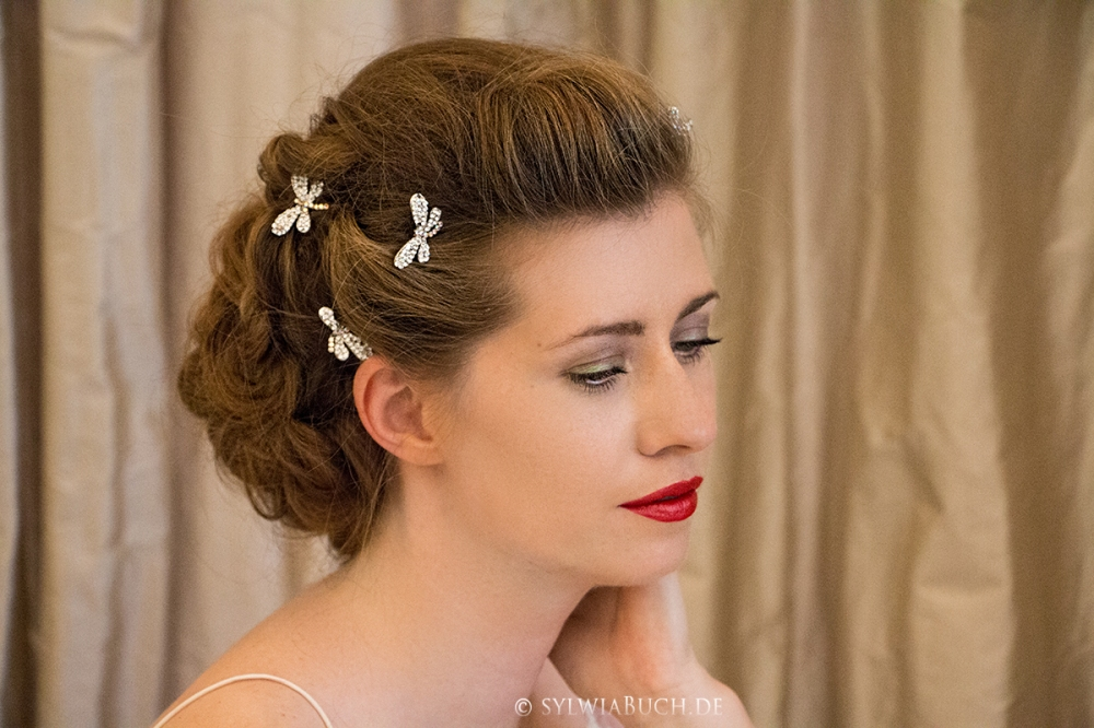 Romantic Bridal Hairstyle BineLovesLife