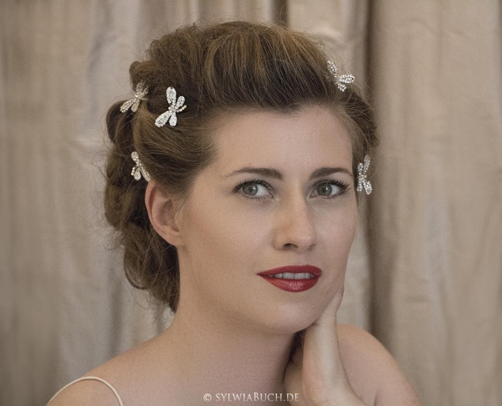 Romantic Bridal Makeup oldern days BineLovesLife