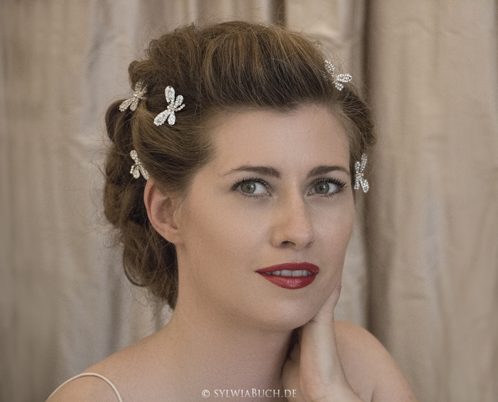 Romantic Bridal Makeup oldern days BineLovesLife