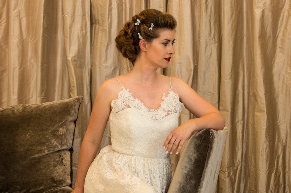 Romantic Look Bridal Hair BineLovesLife