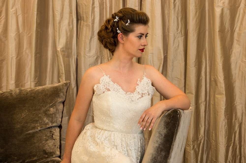 Romantic Look Bridal Hair BineLovesLife