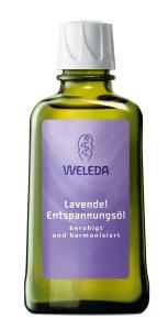 Weleda Lavendel Entspannungsoel, Packshot