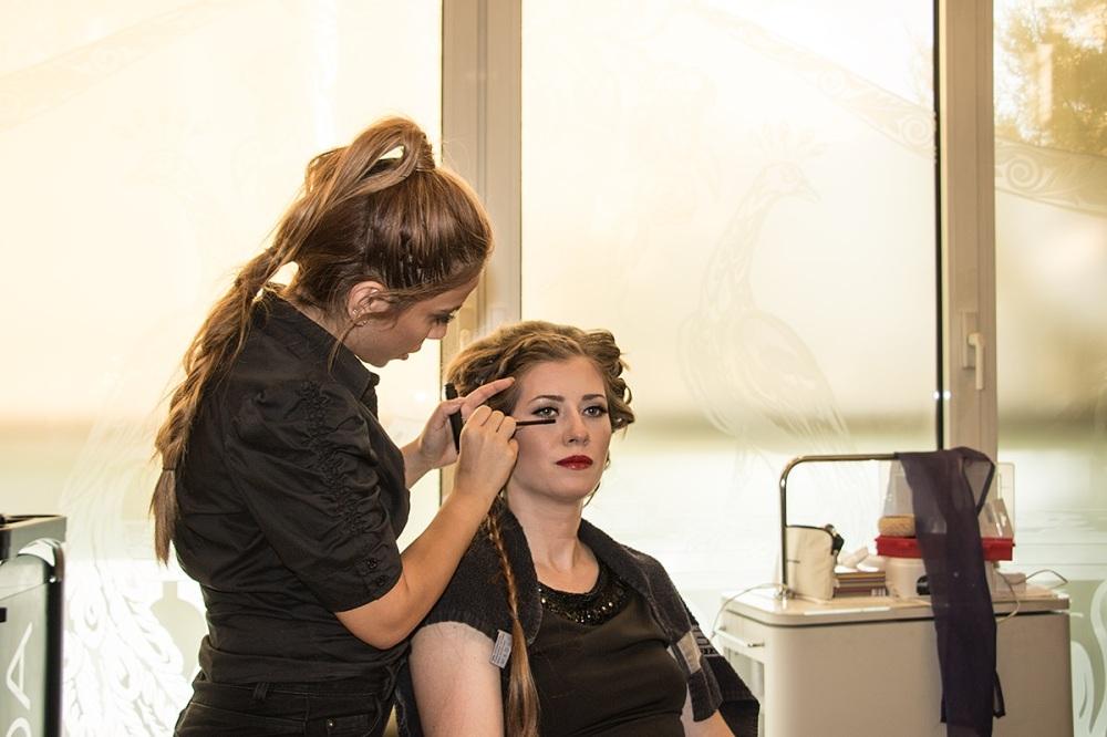 Bridal Makeup Hair Wedding Day BineLovesLife