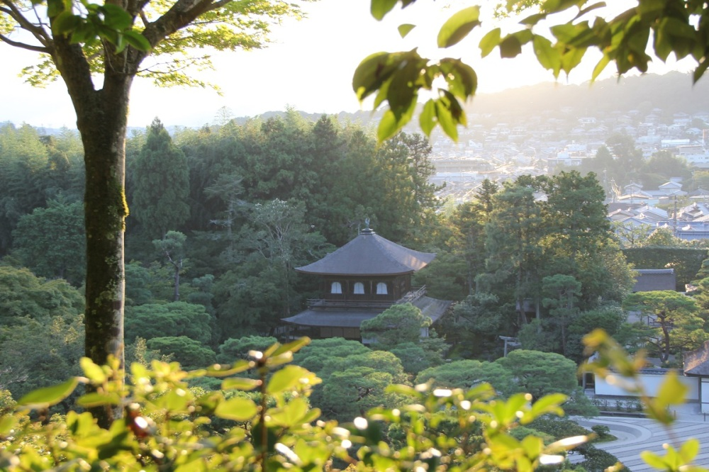 Ginkaku-ji Kyoto Honeymoon Japan BineLovesLife