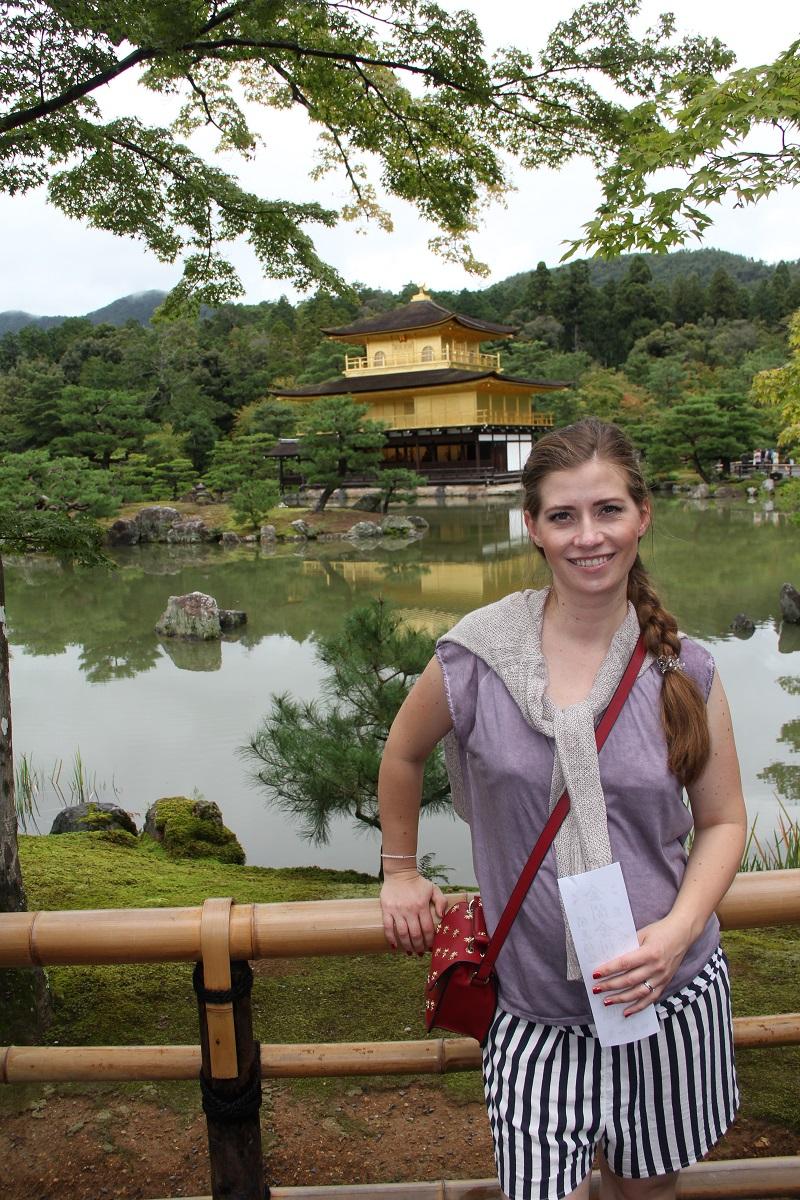 Kinkaku-ji 2016 Kyoto Japan Honeymoon BineLovesLife