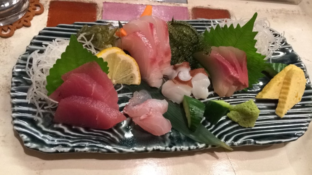 Sashimi Miyako Honeymoon TravelTuesday BineLovesLife