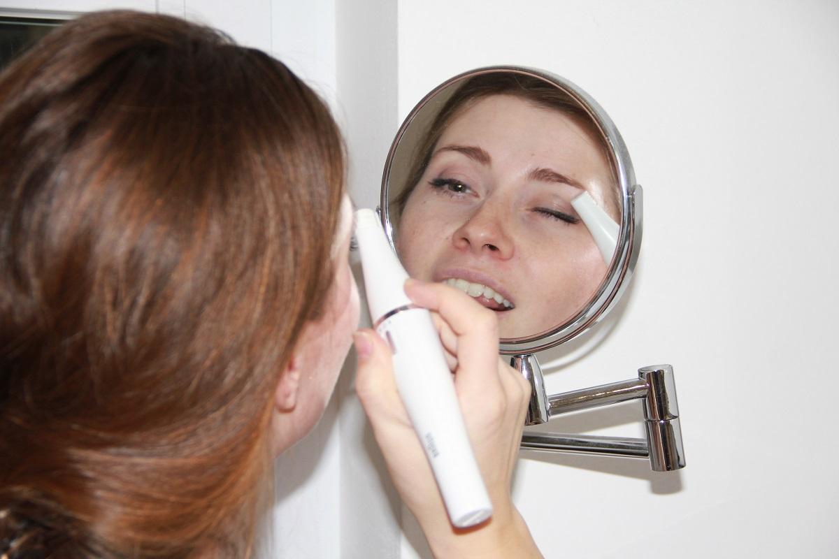 FaceSpa Augenbrauen trimmen BineLovesLife