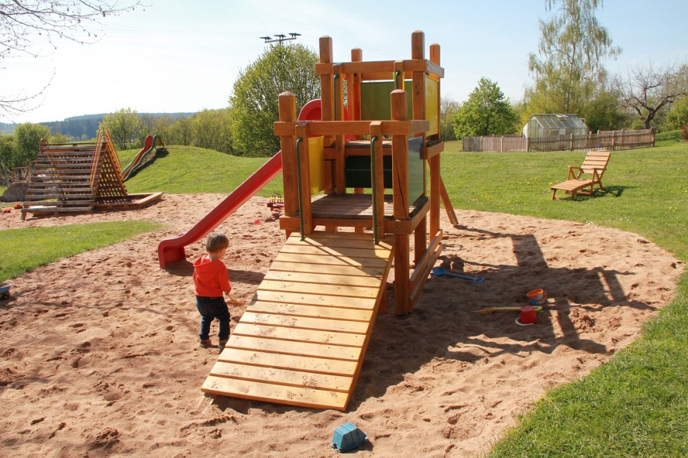 Spielplatz Bauernhofurlaub BineLovesLife