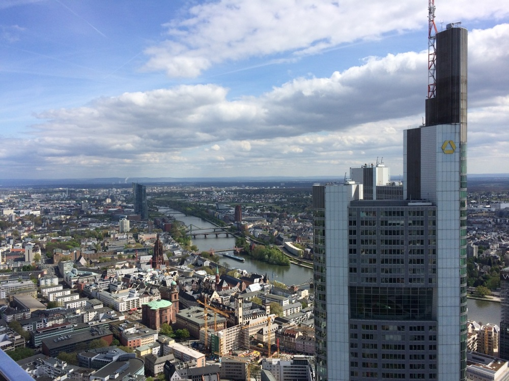 Lunch im Maintower Frankfurt BineLovesLife