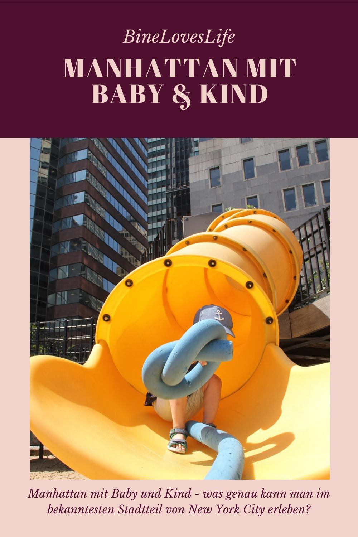 Manhattan mit Baby und Kind BineLovesLife