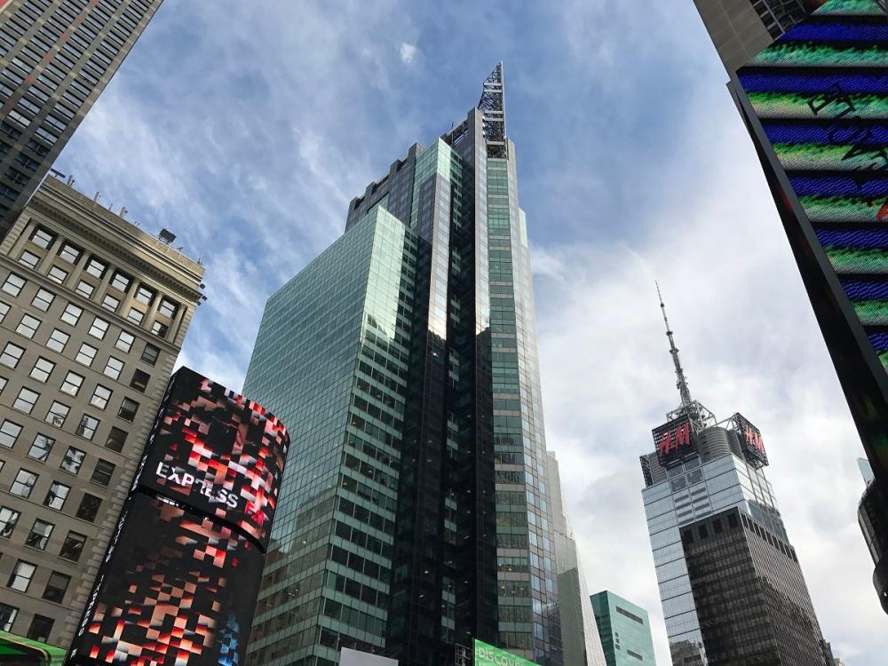 Times Square mit Familie BineLovesLife