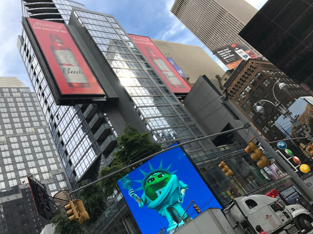 Times Square mit Familie TravelTuesday BineLovesLife
