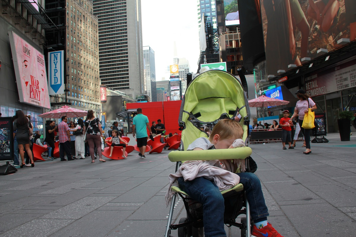 Times Square mit Kindern BineLovesLife