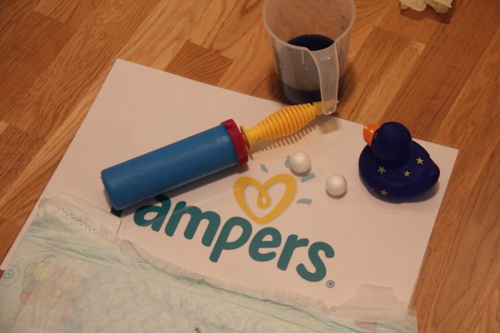 Windeltest Atmungsaktive Trockenheit Pampers Baby-Dry BineLovesLife.JPG