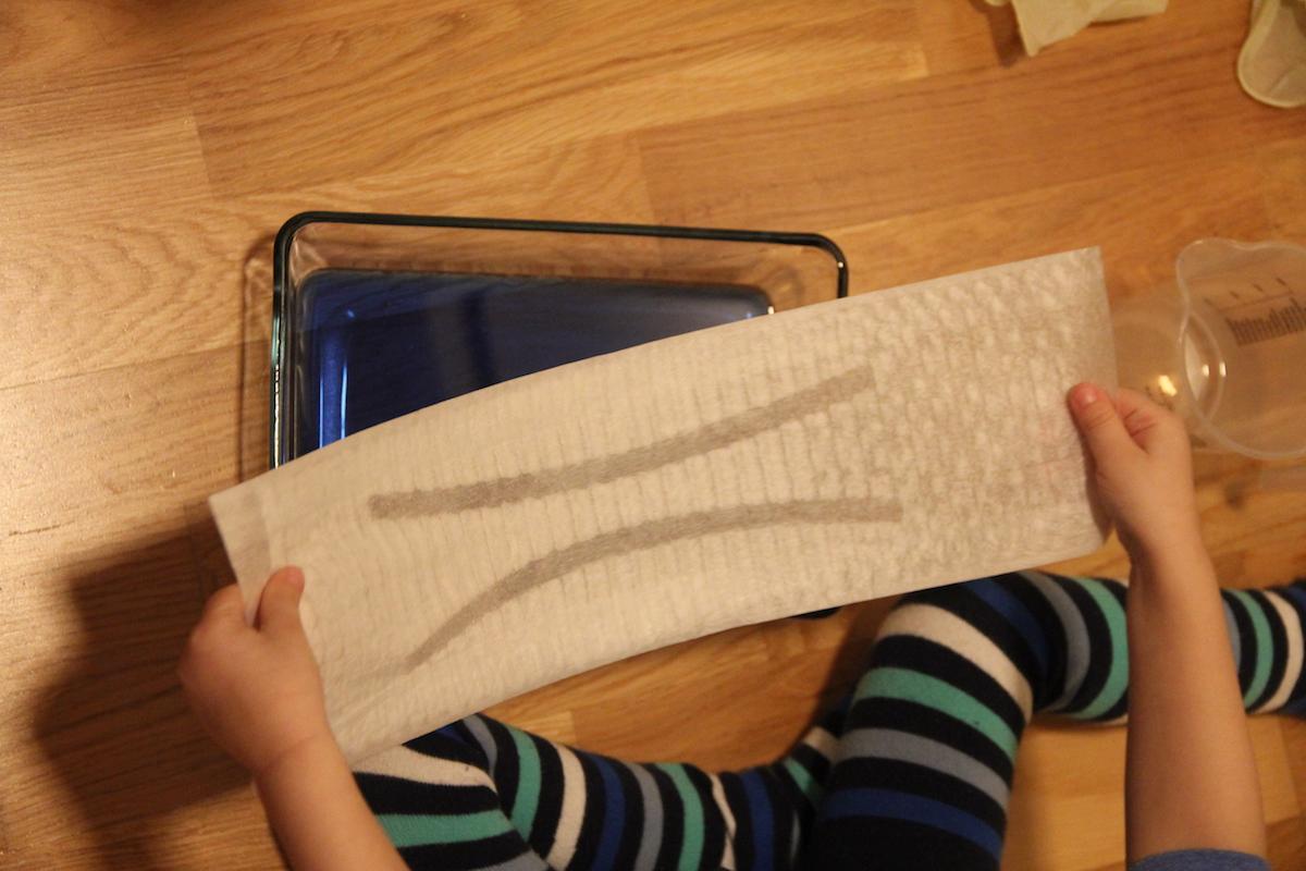 Windeltest Flüssigkeitsaufnahme Pampers Baby-Dry Air BineLovesLife