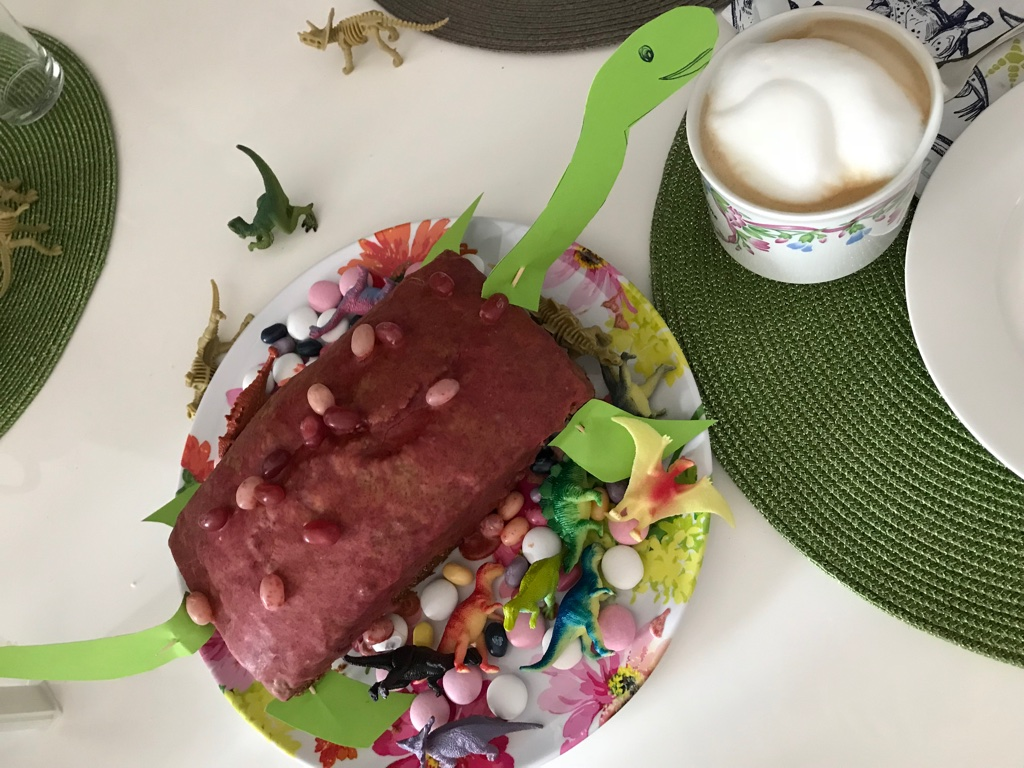 Geburtstag Dinosaurier Kuchen BineLovesLife