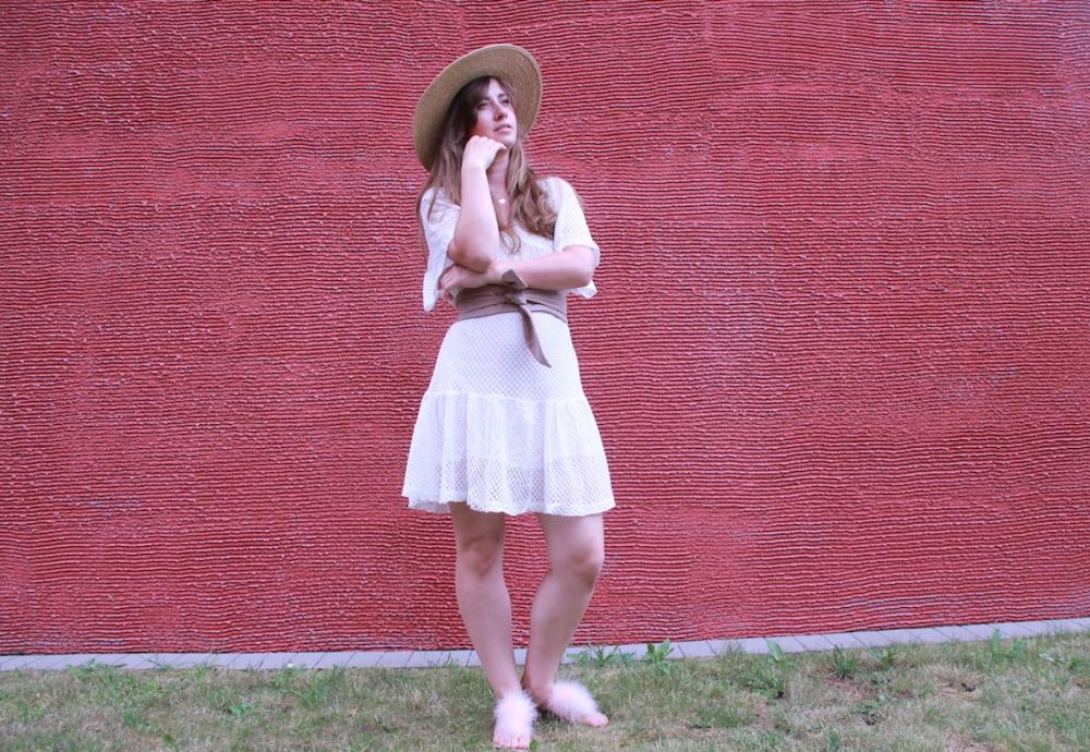 MamaStyleGuide Weißes Sommerkleid BineLovesLife