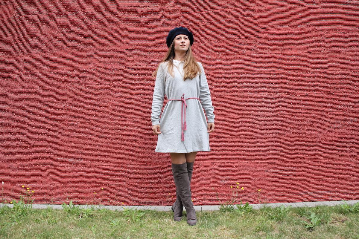 MamaStyleGuide Paris Kleid TrendyThursday BineLovesLife