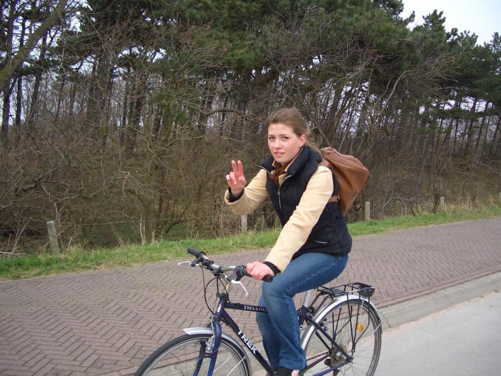 Den Haag Beach Biking BinesLovesLife