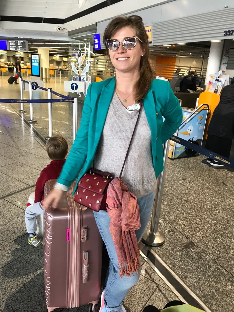 Ankunft Tokyo Flug mit Kindern TravelTuesday BineLovesLife