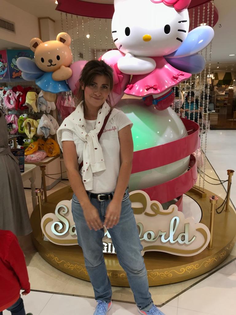 Ankunft Tokyo SanrioWorld TravelTuesday BineLovesLife