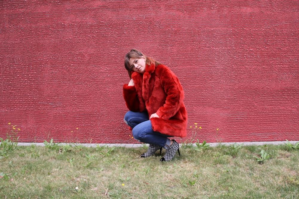 Roter Mantel BineLovesLife
