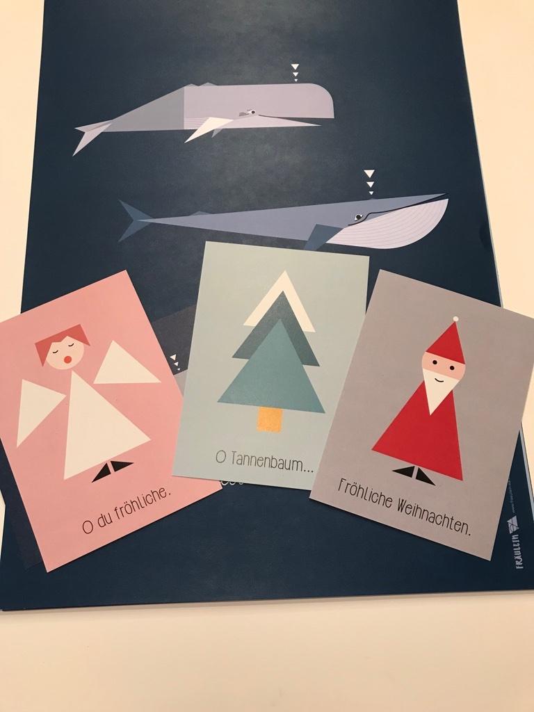 Adventskalender Gewinnspiel Postkarten BineLovesLife
