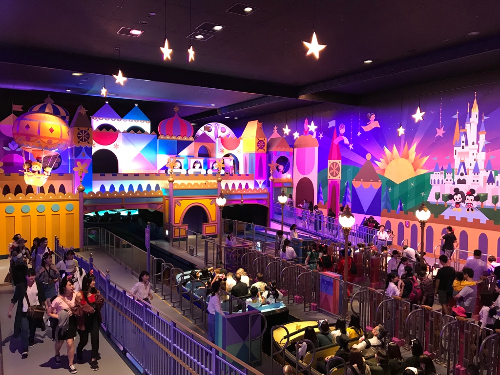 Disneyland Tokyo Its a small world Ride BineLovesLife