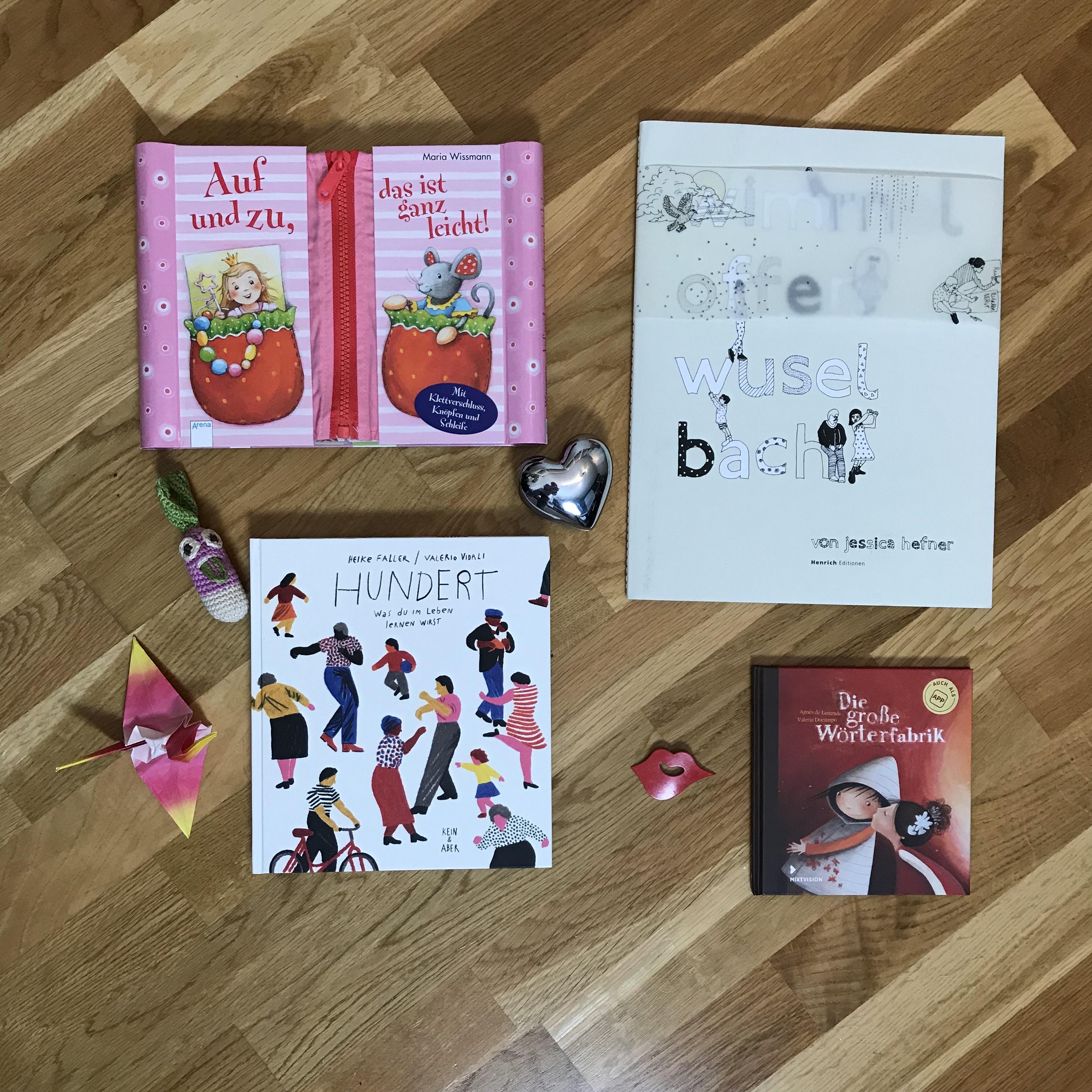 Lieblingsbücher für Kinder April