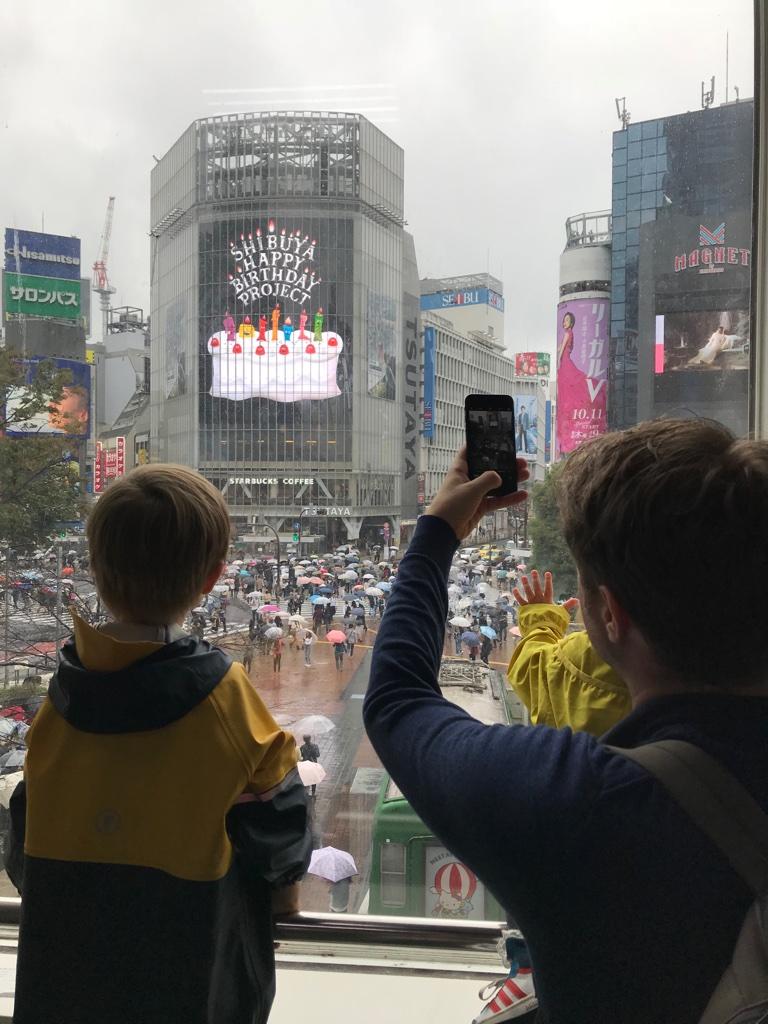 Shibuya Tokyo mit Kindern BineLovesLife