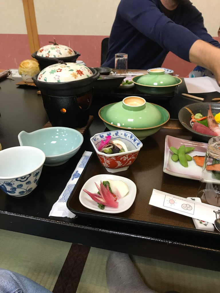 Abendessen Oyado Yamakyu Takayama BineLovesLife