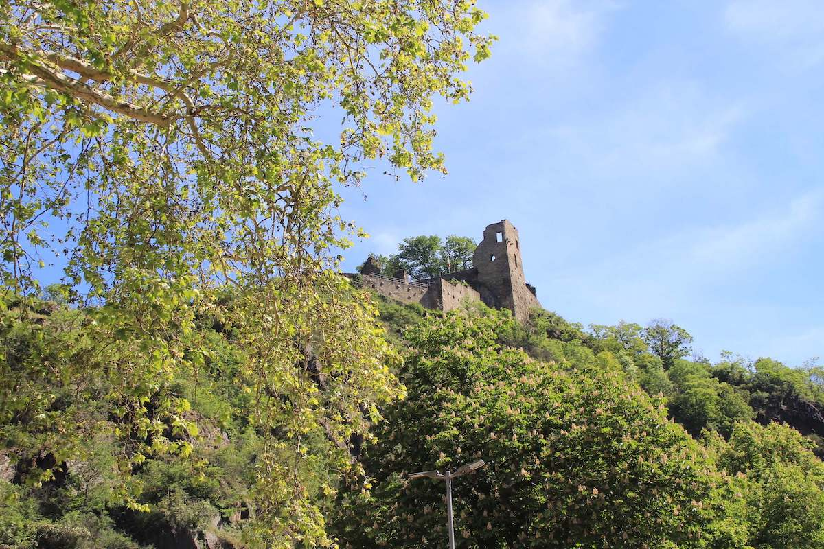 Ahrtal Altenahr Burg Are Ruine BineLovesLife
