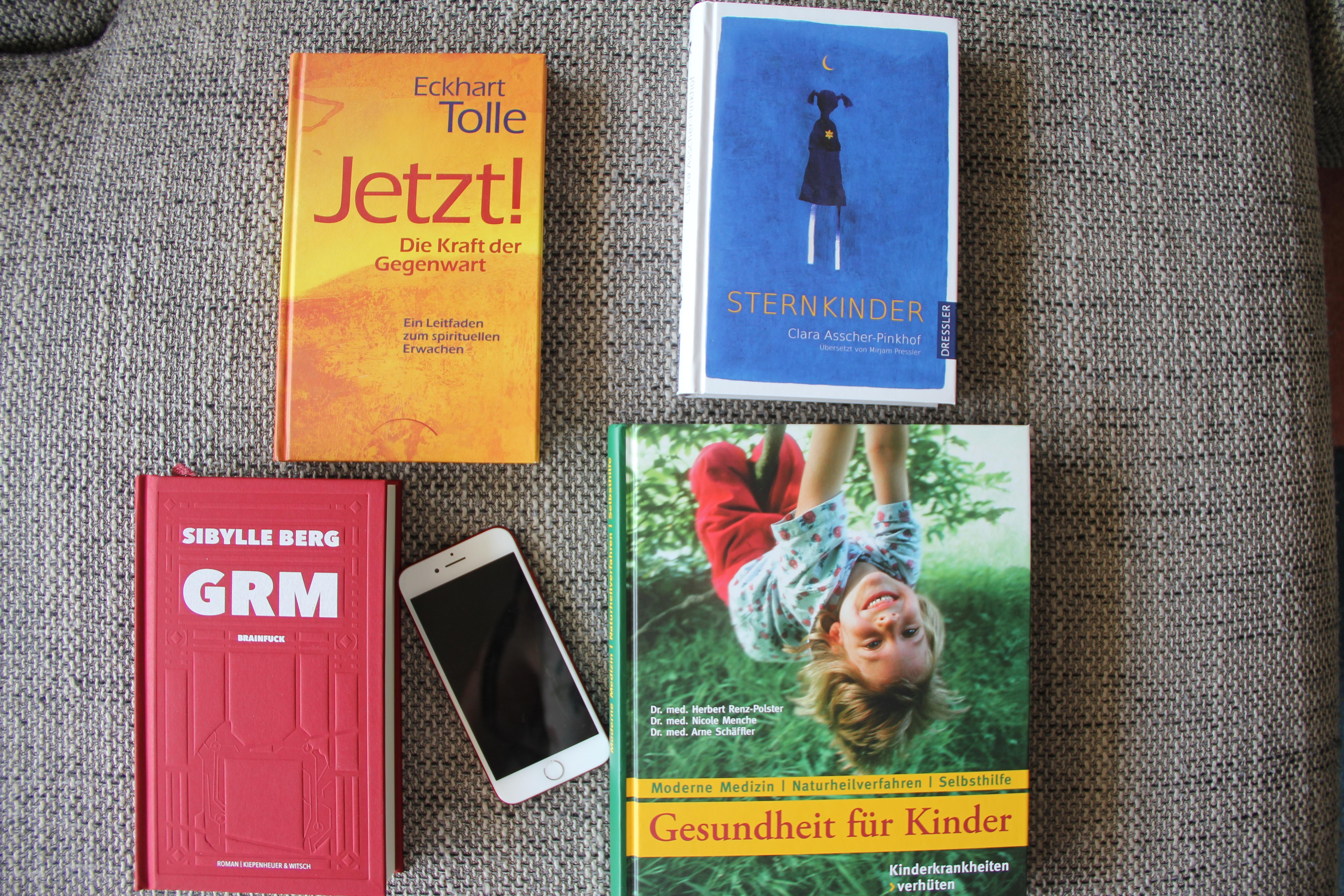 Bücher für mich im August BineLovesLife