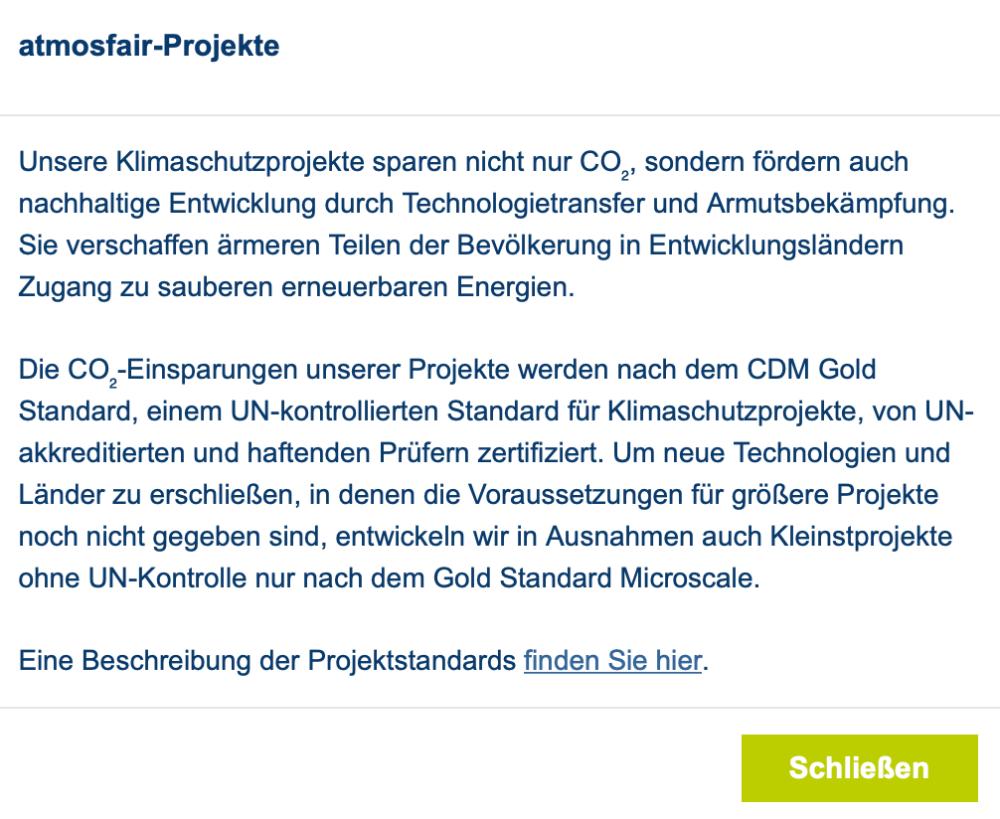 Flug kompensieren Klimaschutzprojekte BineLovesLife