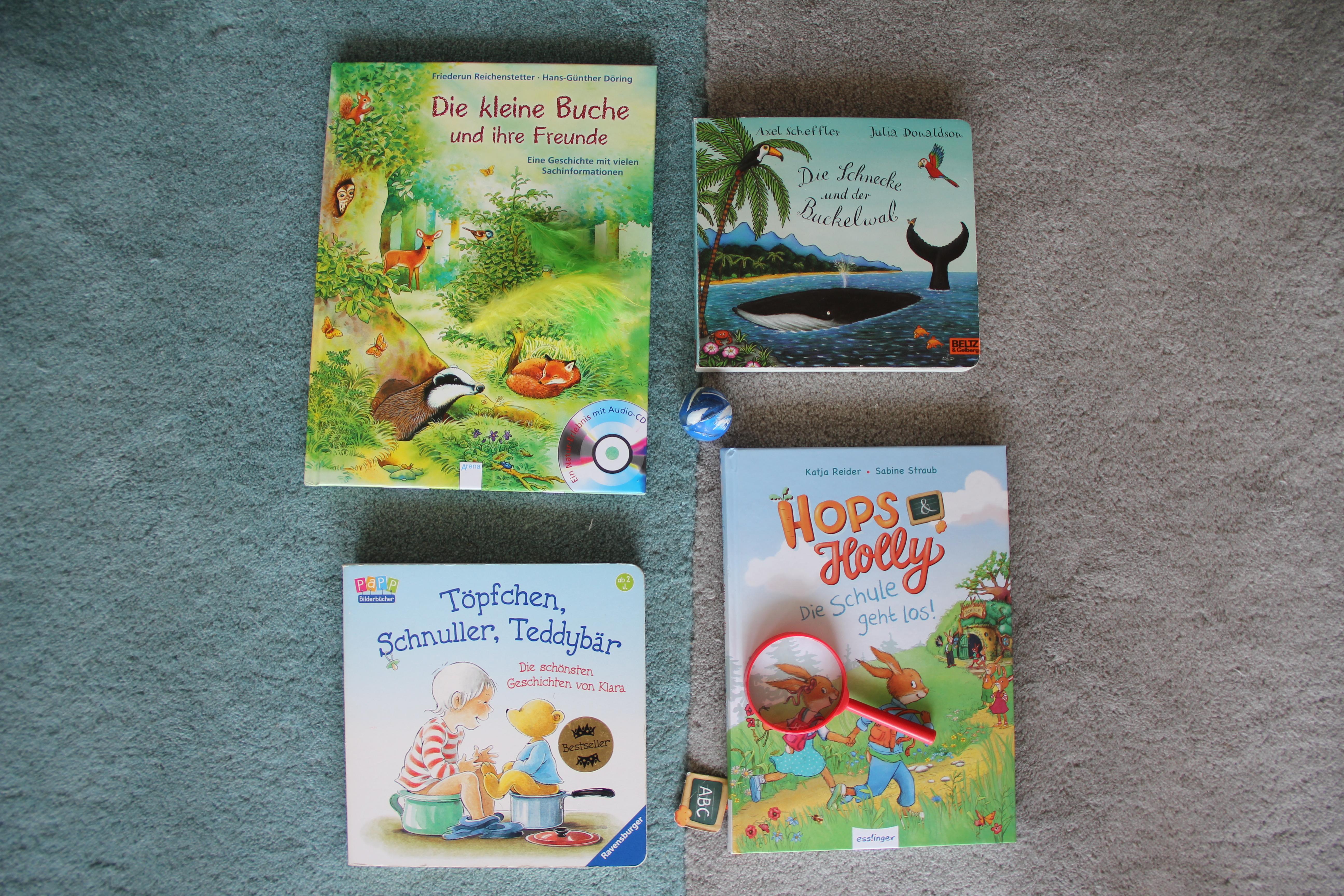 Kinder Bücher für August BineLovesLife