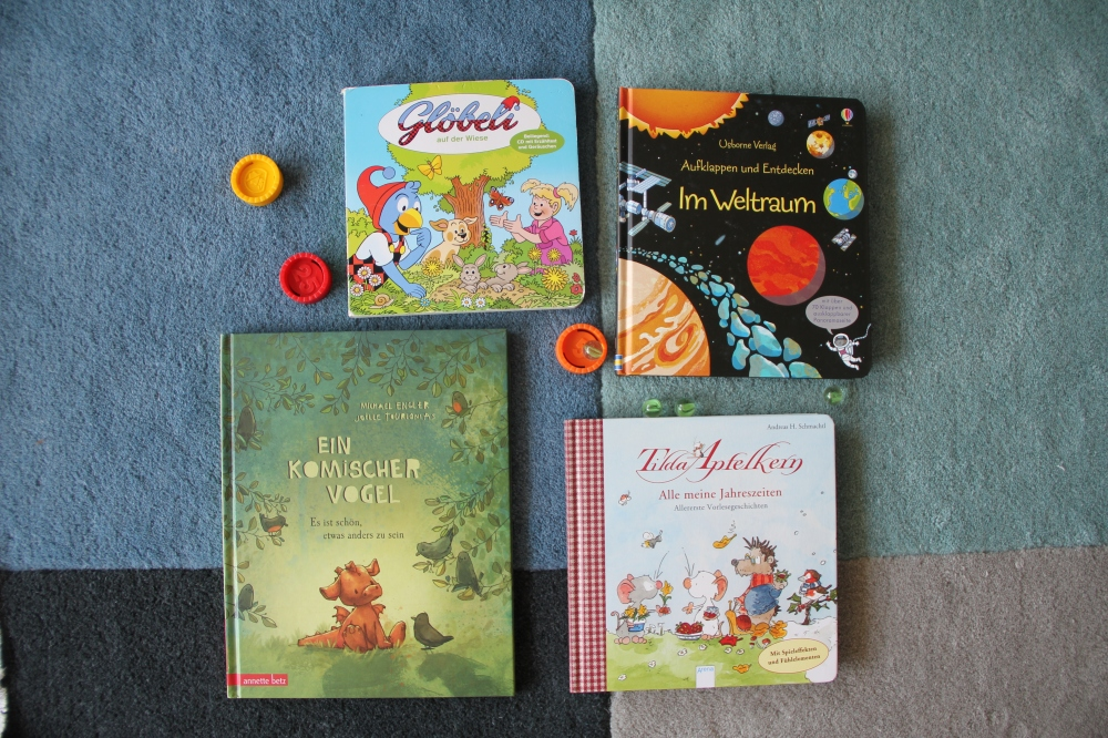 Kinder Bücher für Juli BineLovesLife