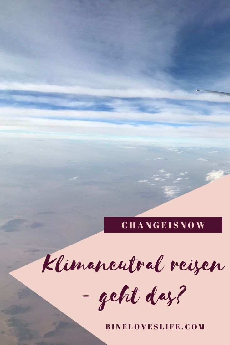 Klimaneutral reisen BineLovesLife