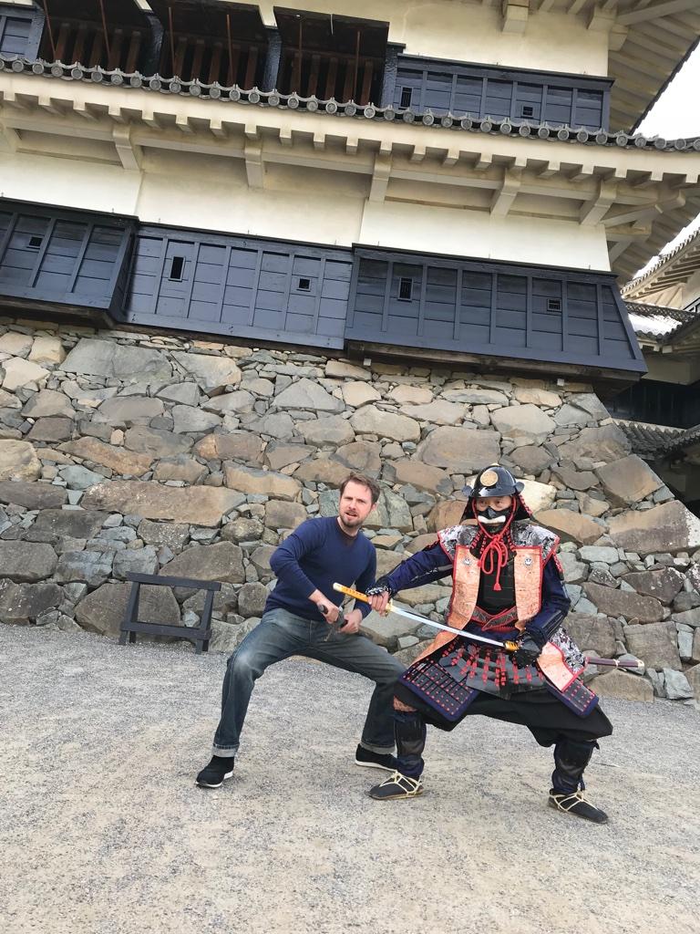 Matsumoto Castle Samurai BineLovesLife