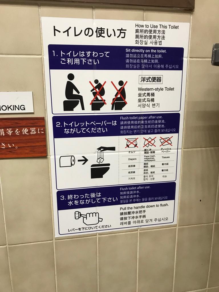 Toiletten Gebrauchsanweisung Japan BineLovesLife