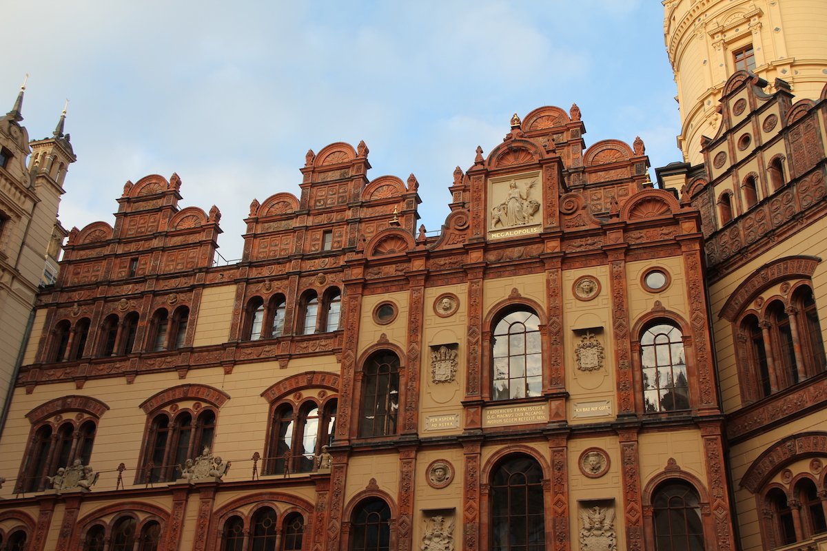 Impressionen Schweriner Schloss Innenhof BineLovesLife