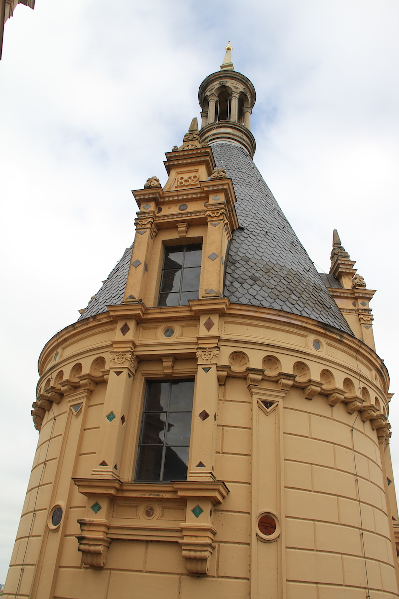 Schloss Schwerin von oben BineLovesLife