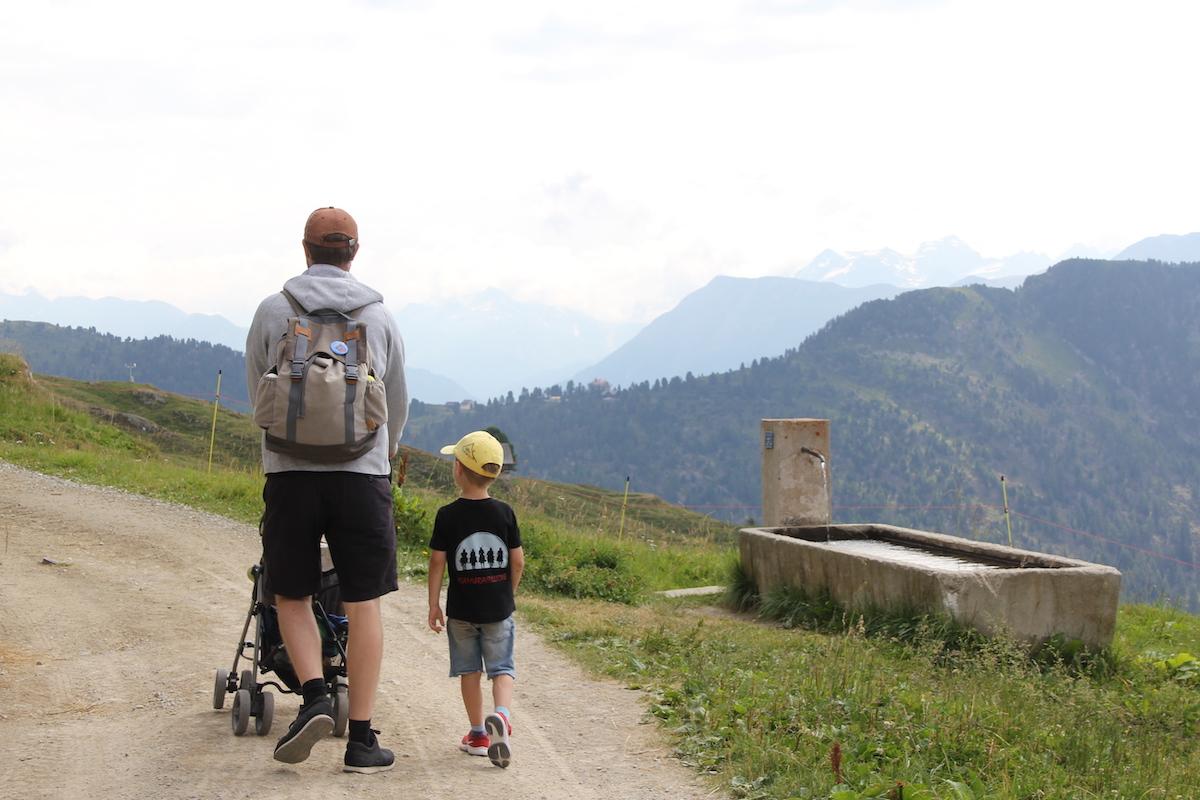 Wandern mit Kindern Schweiz BineLovesLife